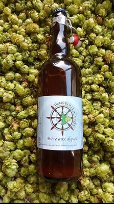 Bière blonde algues artisanale bretagne brasserie Tiens Bon la Barre