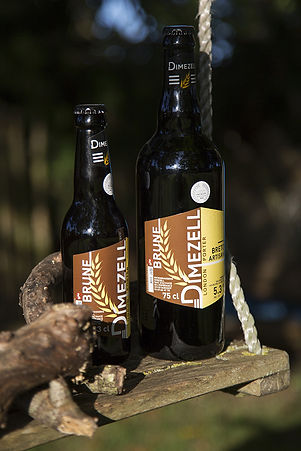 Bière brune artisanale London Porter brasserie Dimezell Bretagne