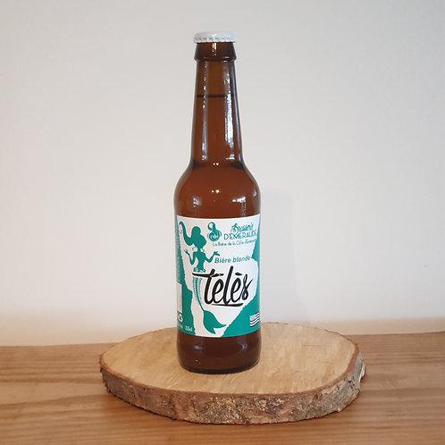 Bière blonde TÉLÉS