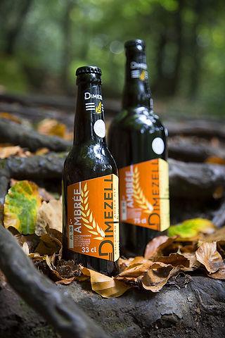 Bière ambrée artisanale bretagne amber ale brasserie Dimezell