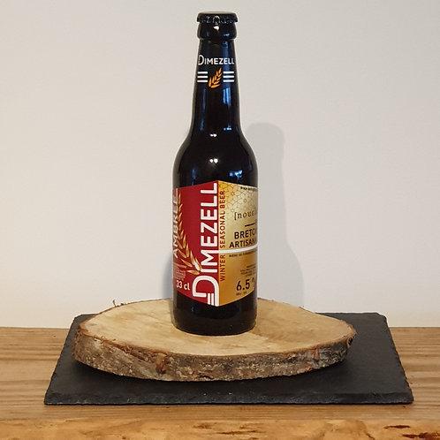 Bière ambrée de Noël