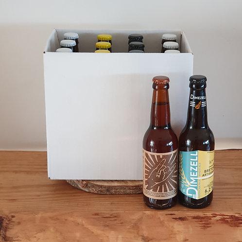 Colis découverte 12 bières Bretonnes