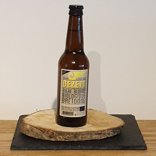 "Bière blonde Oézètt"""