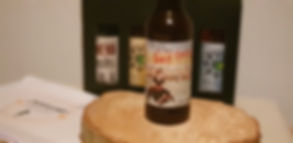 Bière blonde triple artisanale bretagne Semper fidelis brasserie l'Émeraude