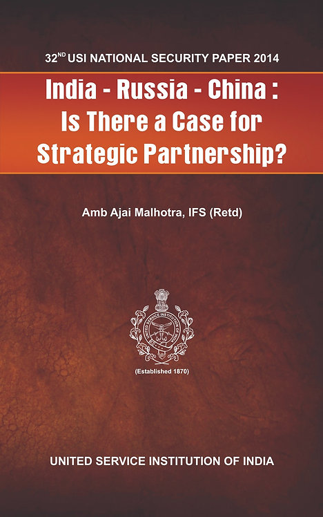 India-Russia-China: Is there a case for Strategic Partnership?