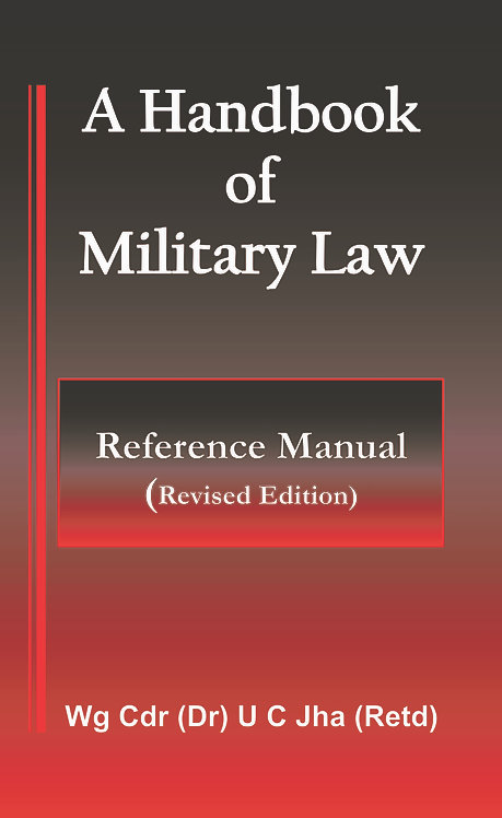 A Handbook of Military Law: Reference Manual (Revised Edition)