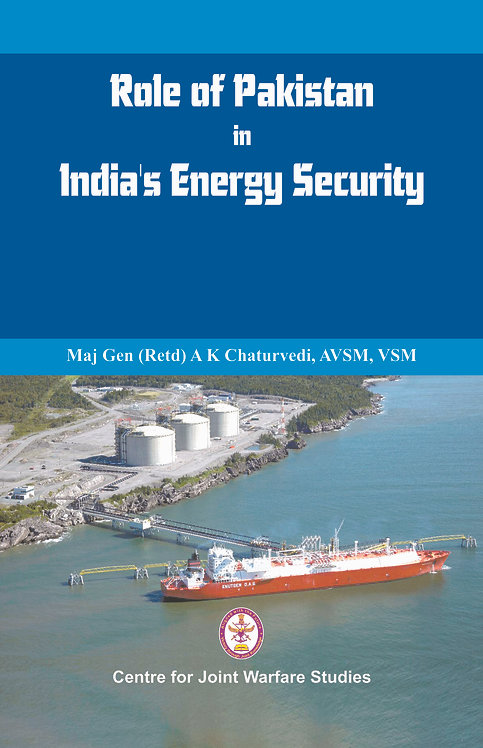 Role of Pakistan in India's Energy Security- An Issue Brief