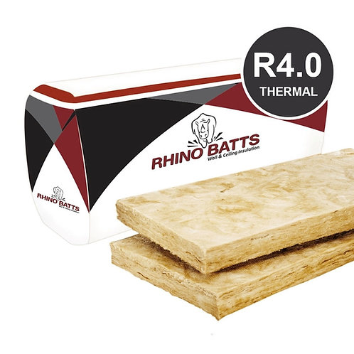 R4.1 215mm Glass Wool Insulation Batt