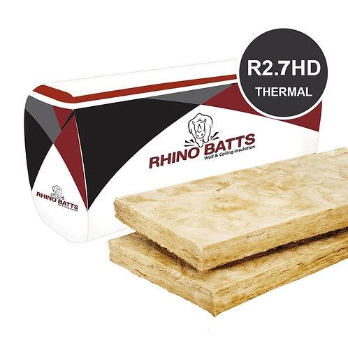 R2.7HD 90mm Glass Wool Insulation Batts
