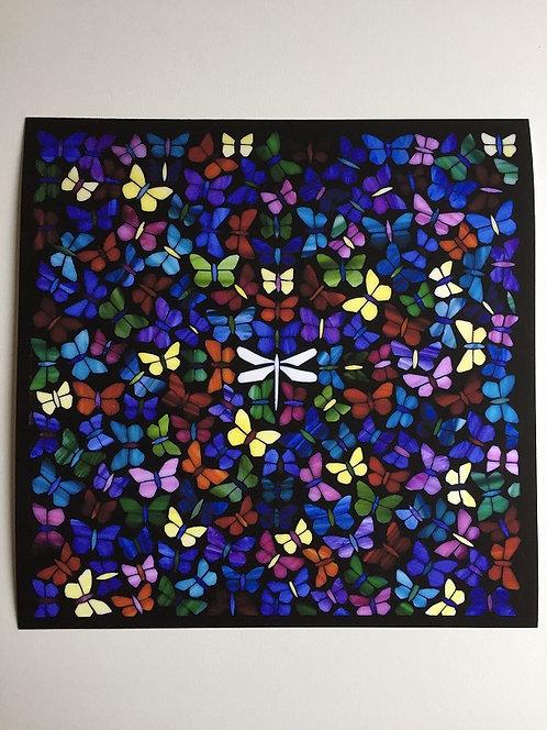 Butterflies Print