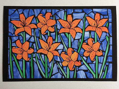 Tiger Lily Print