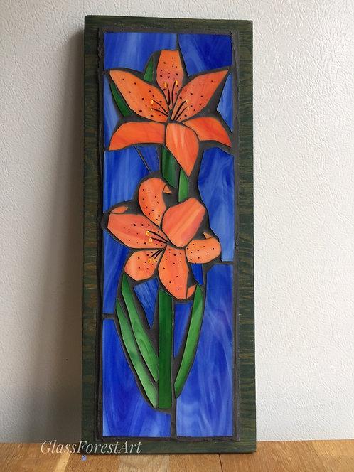 Tiger Lilies Mosaic