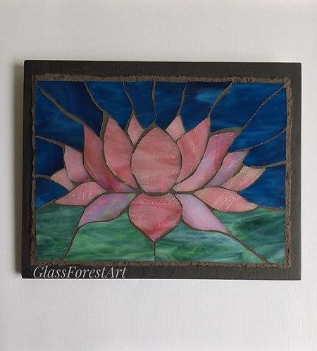 Pink Lotus Mosaic