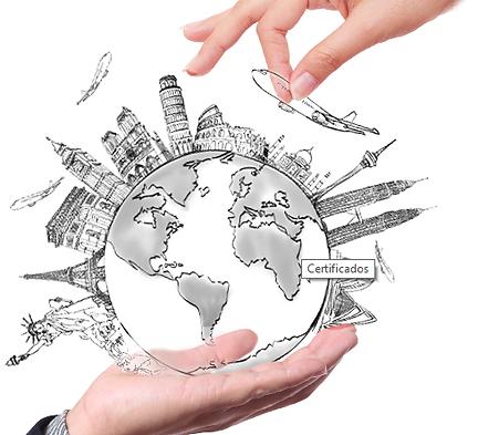 Conquiste o mundo com nossos certificados internacionais