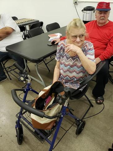 Linda's new walker!