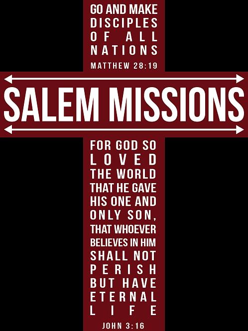 Salem Missions Tee Shirt