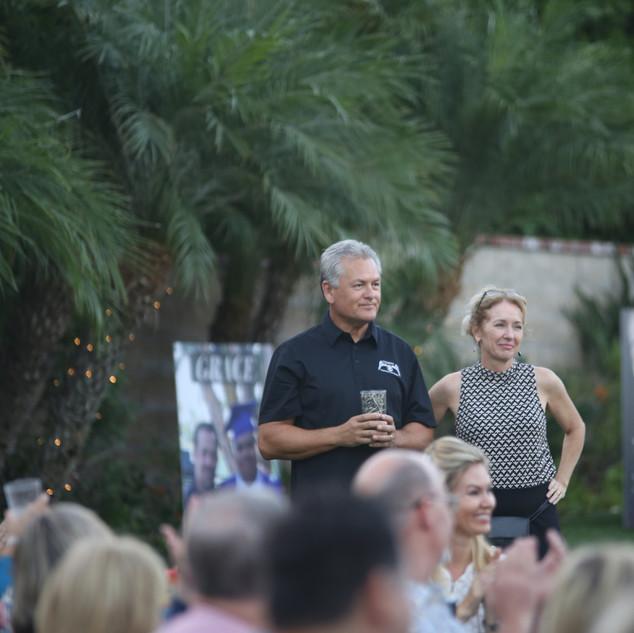 Our hosts Walt & Leann Luchinger