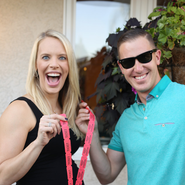 Chris & Katie Pond - Raffle Tickets!