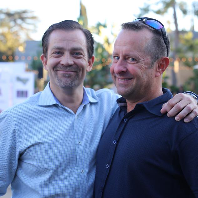 Servant of the Year - Paul Moffitt with Scott Schade