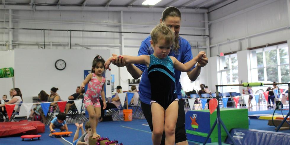 Balance Beam ~ Preschool Clinic