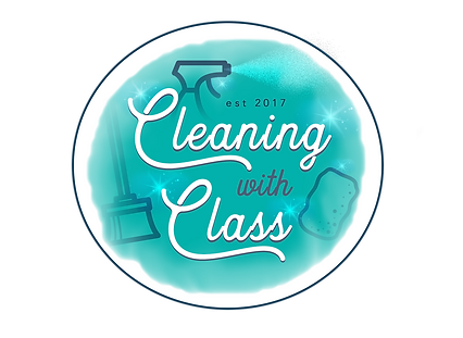 Cleaning With Class Logo V4 PNG .png
