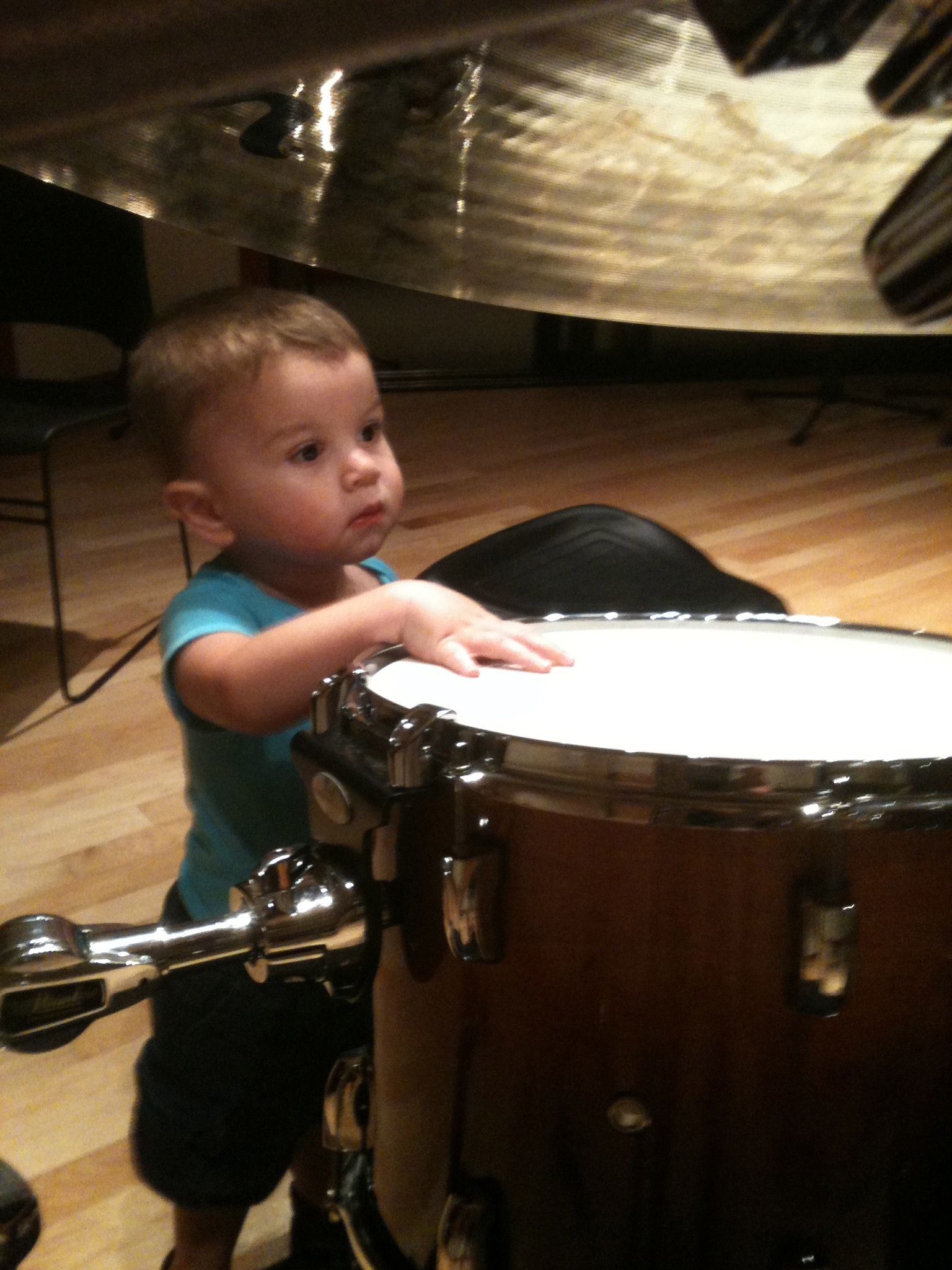 My little drummer boy