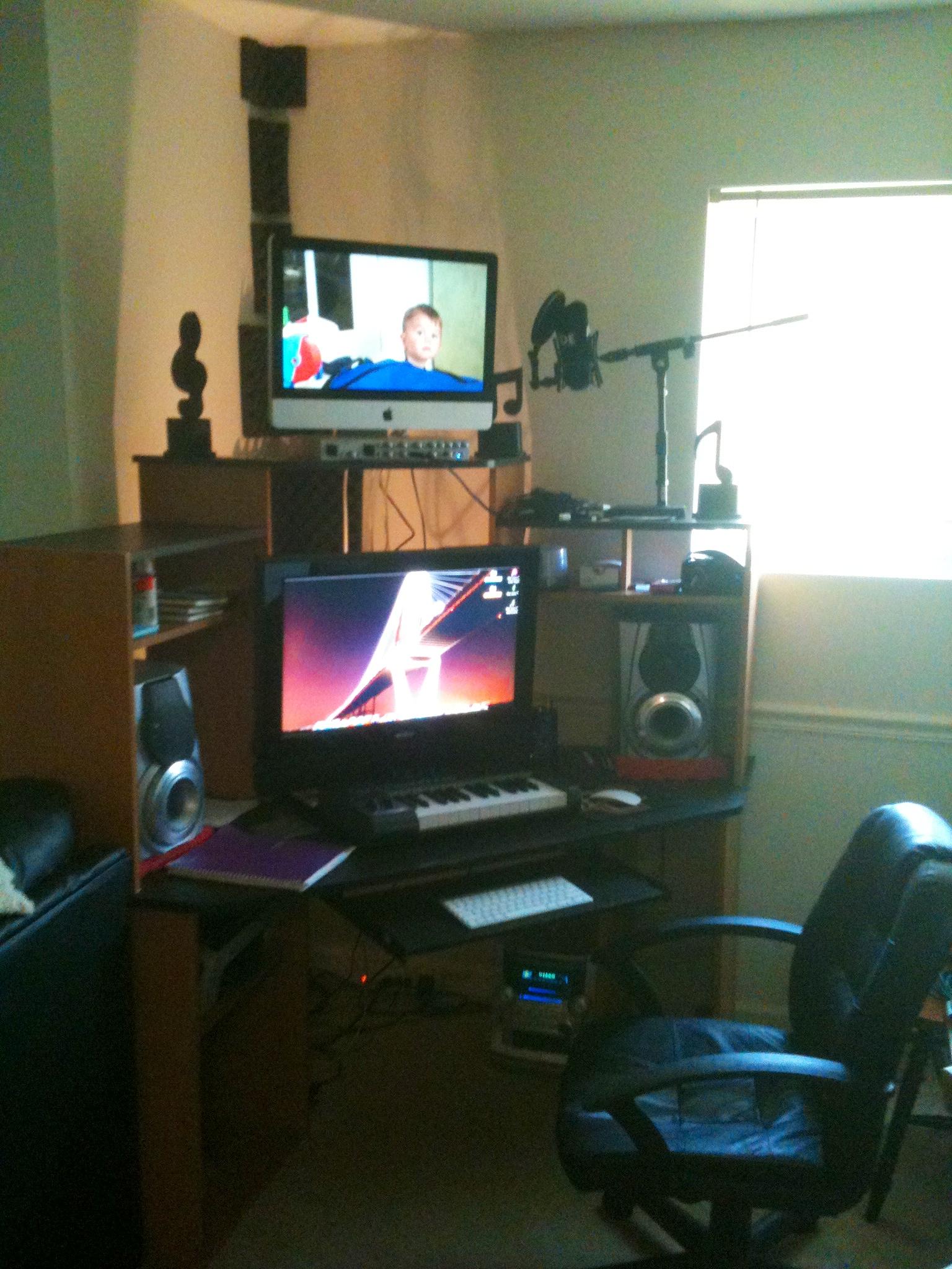 Home mixing setup