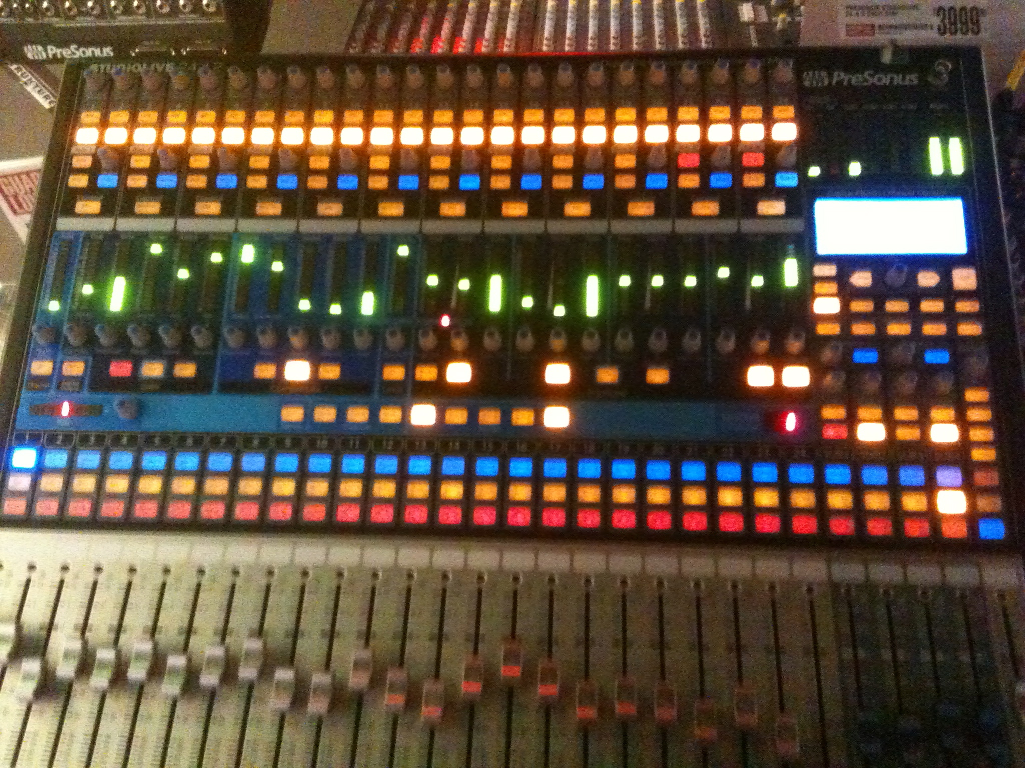 Gawing over a new PreSonus console