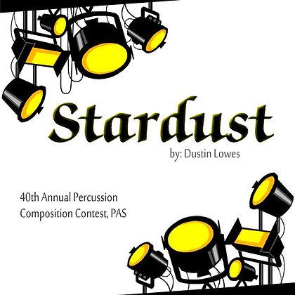 Stardust: Digital Score & MP3's For Concert Snare Drum & Digital Audio