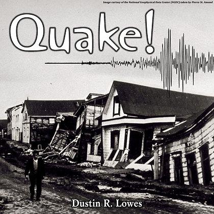 Quake!: Digital Score & MP3's For Multi-Percussion & Digital Audio