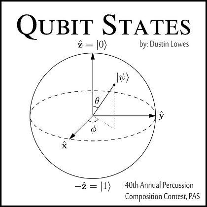 Qubit States: Digital Score & MP3's For Concert Snare Drum & Digital Audio