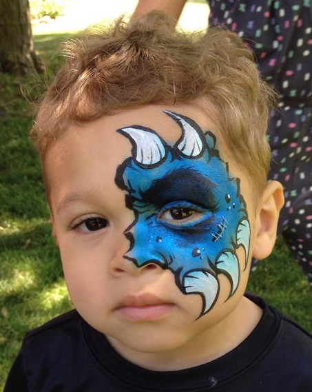 Connecticut face painting