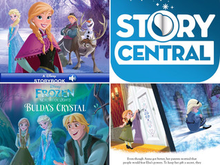 Frozen Storybook and Bulda's Crystal