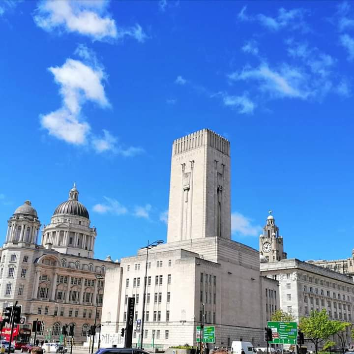 Liverpool looking lovely on the Saturday