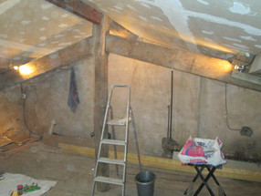 Plasterboarding: And The Filling Commenses!