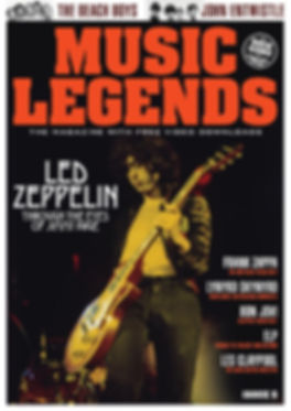 Music Legends Issue 5 Front Cover (No Bl