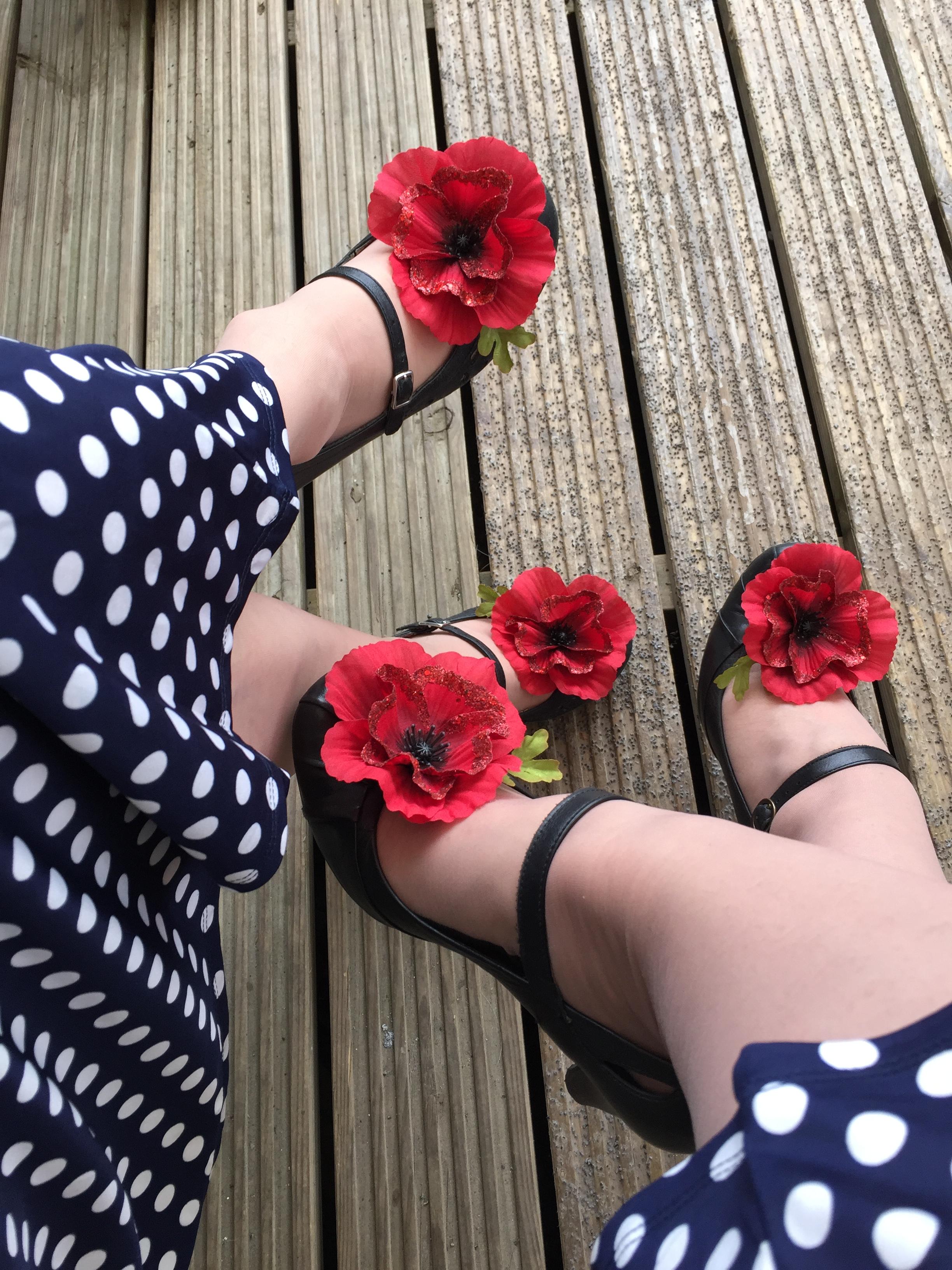 Every shoe needs a poppy