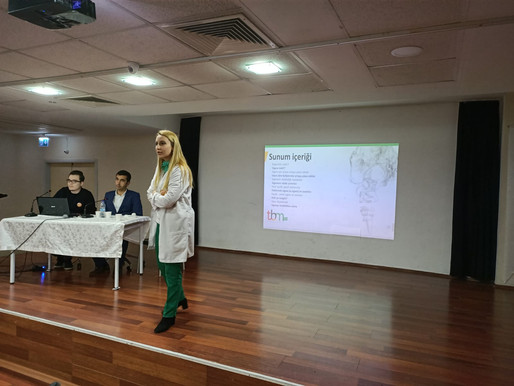 Yeşilay Haftası sebebiyle okulumuz öğretmenleri 'BAĞIMLILIK' konulu konferans vermiştir.