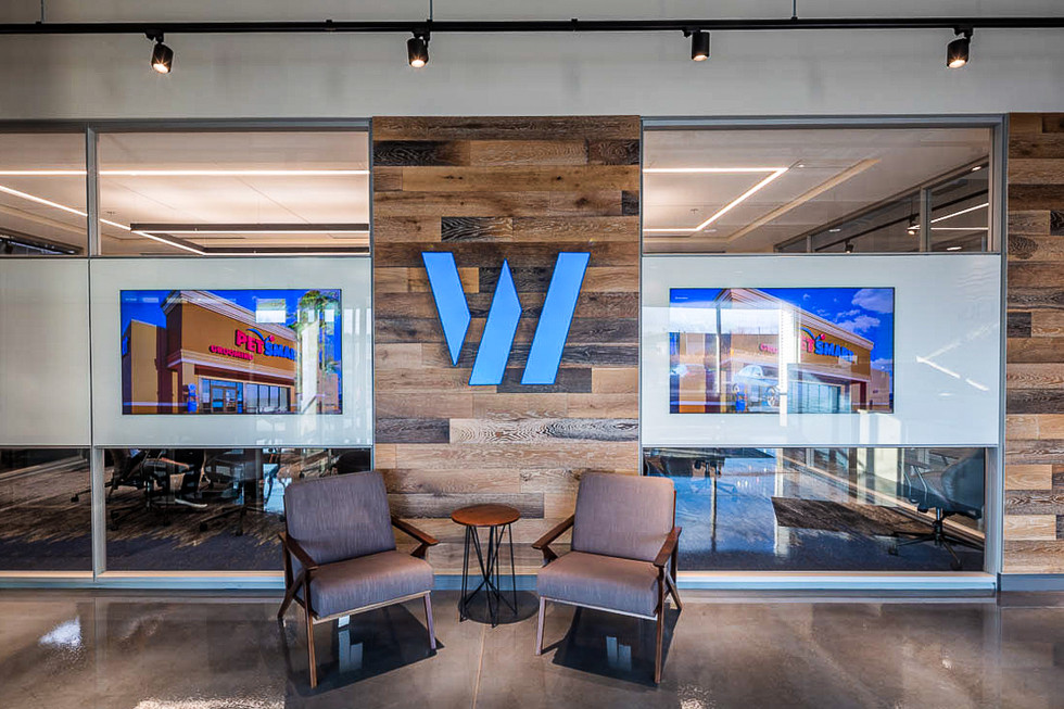 Widewaters - Entrance Signage