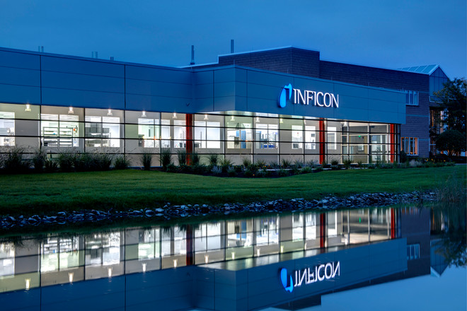 Inficon Two Technology Place Addition - Exterior