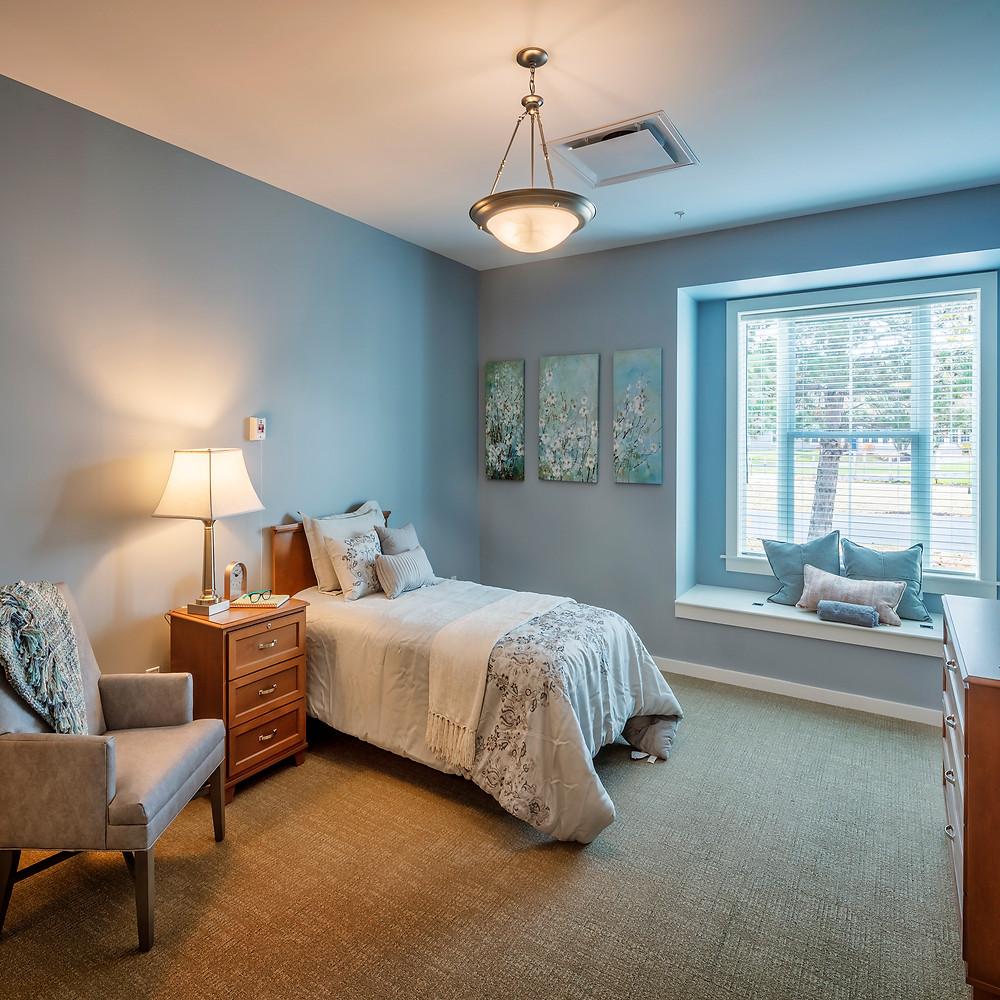 Loretto Memory Care Bedroom
