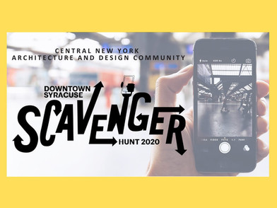 AIA CNY hosts Downtown Syracuse Scavenger Hunt 2020