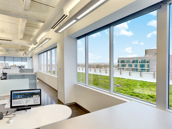 O'Brien & Gere HQ's - View Towards Green Roof