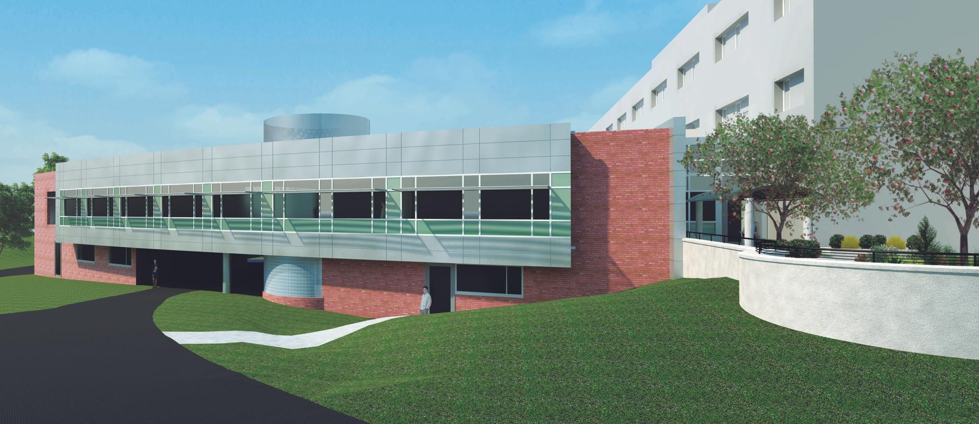 St Camillus Traumatic Brain Injury Facility - Exterior Rendering
