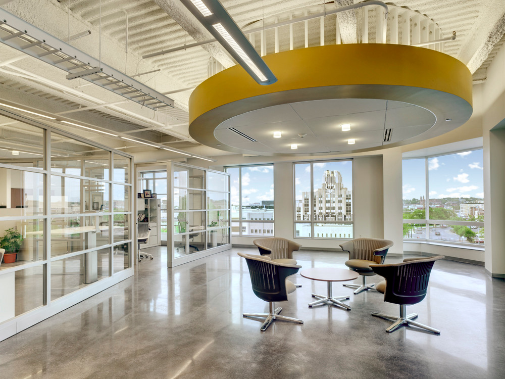 O'Brien & Gere HQ's - Small Gathering Space