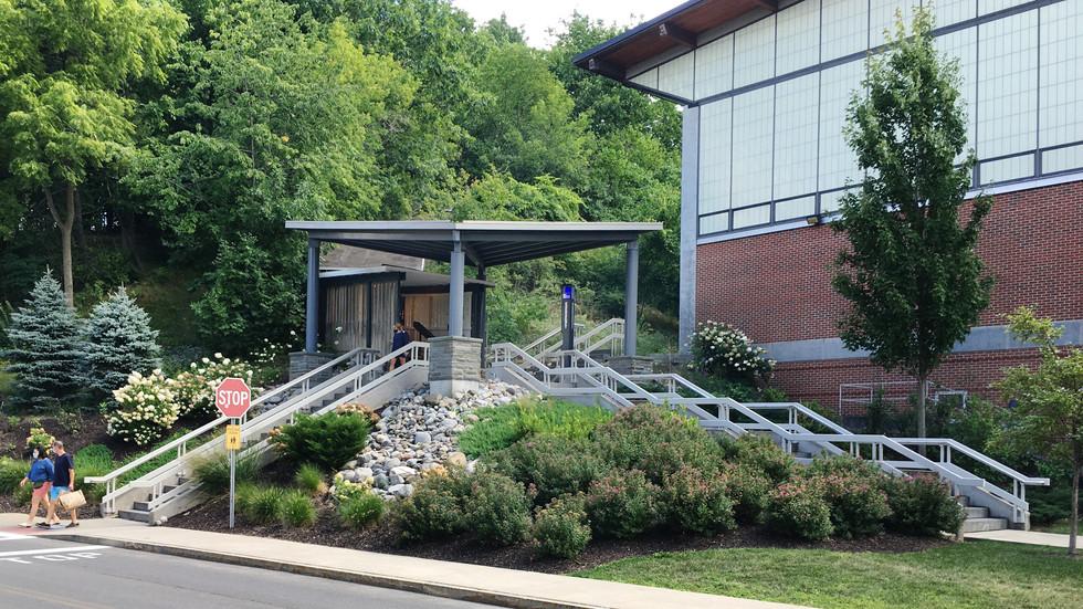 Syracuse University Sims Drive - Canopy