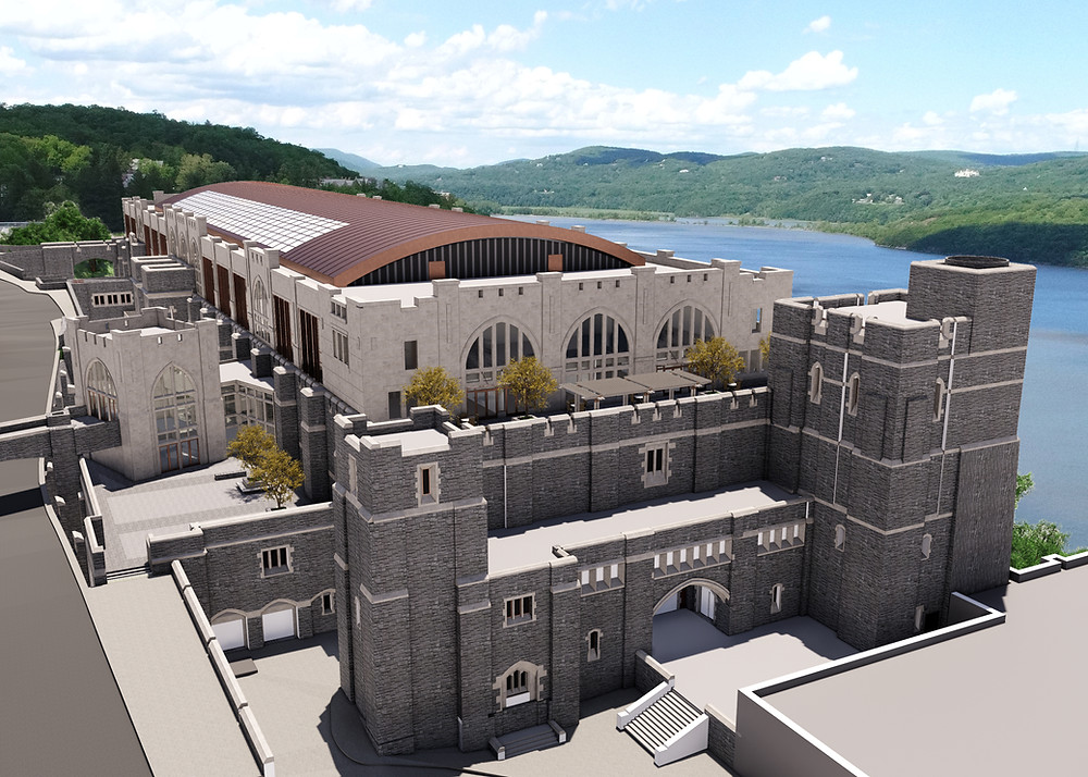United States Military Academy at West Point - Thayer Hall Renovation and Expansion, Exterior Rendering