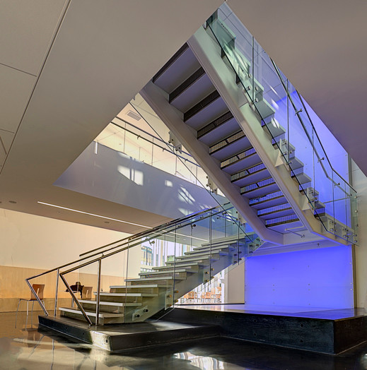 SUNY Institute of Technology Student Center - Feature Stair