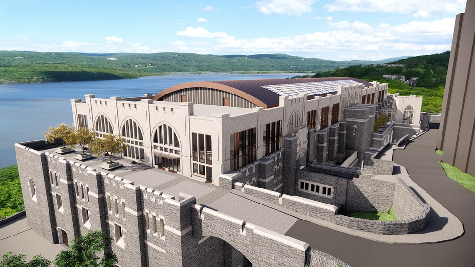 West Point Military Academy - Thayer Hall Renovation - Proposed North Elevation