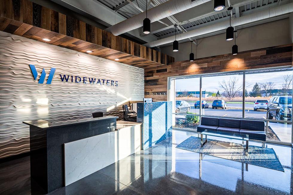 Widewaters - Reception Desk